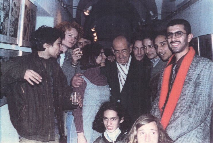 Alberto Breccia con sus alumnos