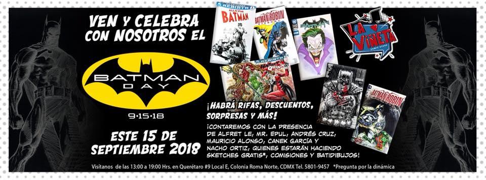 batman day CD Mexico 2018