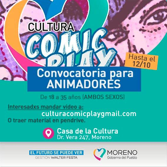 cultura comic play video