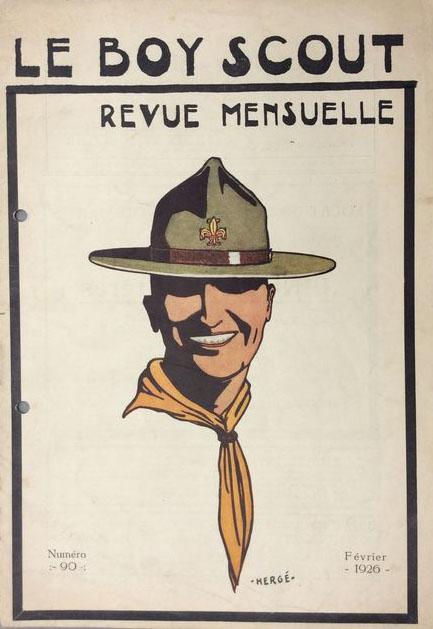le-boy-scout-herge