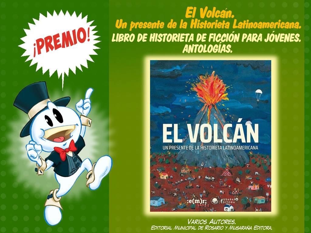 Libro de historieta de ficción para jóvenes de autoría argentina-antologias - el volcan historieta latinoamericana