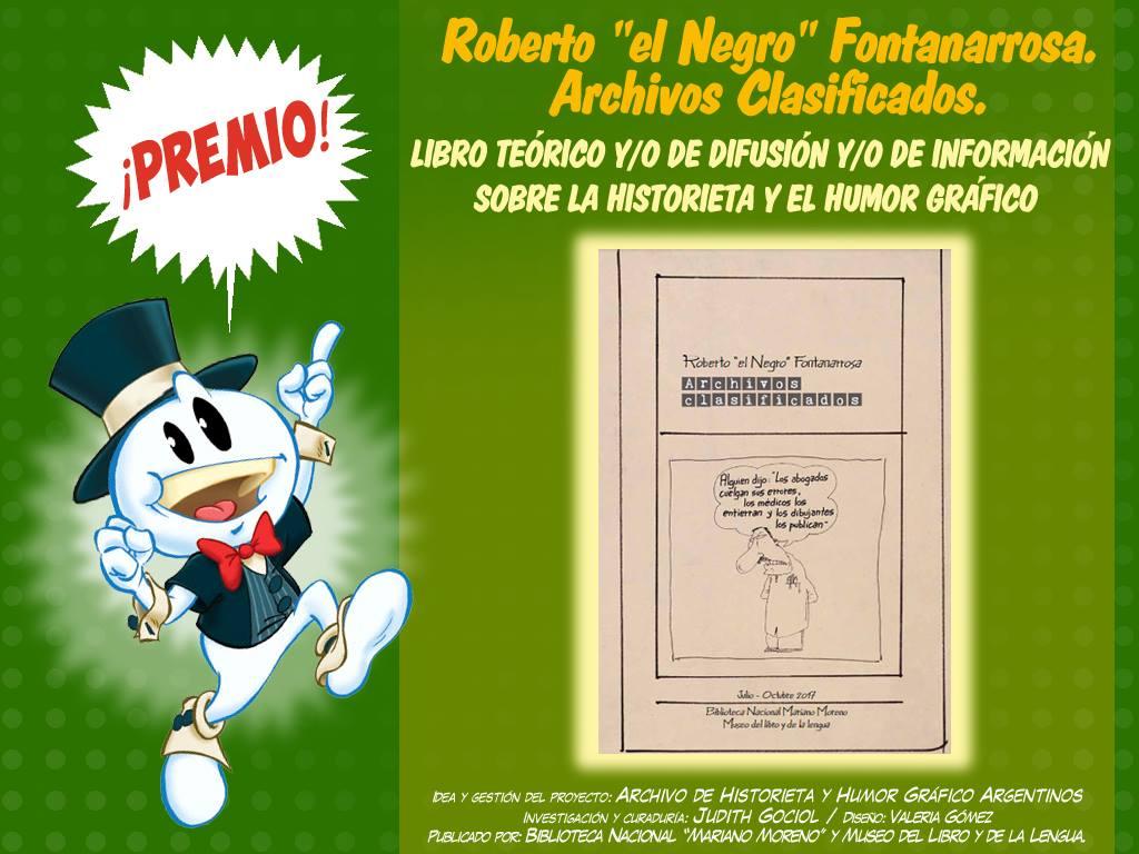 Libro teórico de difusión y de información sobre la historieta y el humor gráficofontanarrosa