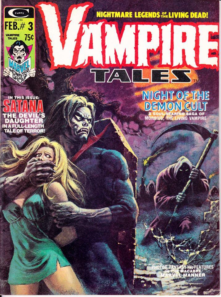 Morbius, el Vampiro Viviente, 1971, Roy Thomas y Gil Kane