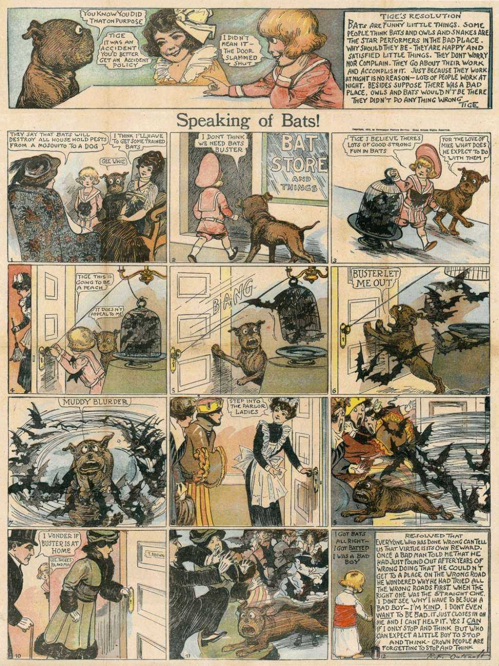 comic-en-diarios-speaking-of-bats-Richard-Felton-Outcault
