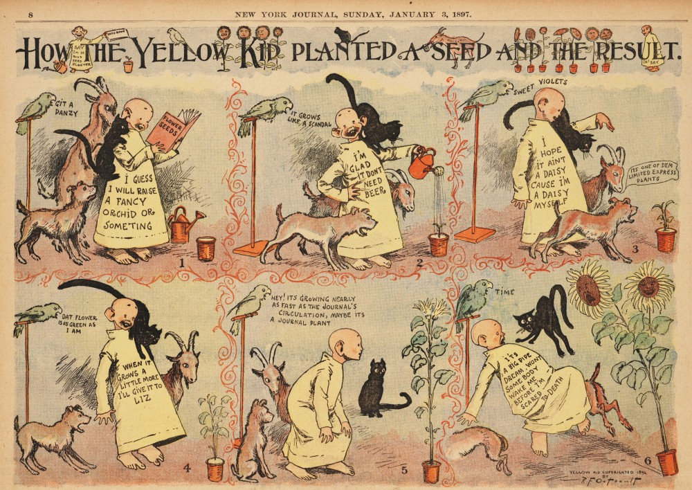 comic-en-diarios-yellow-kid-outcault-tira-1896