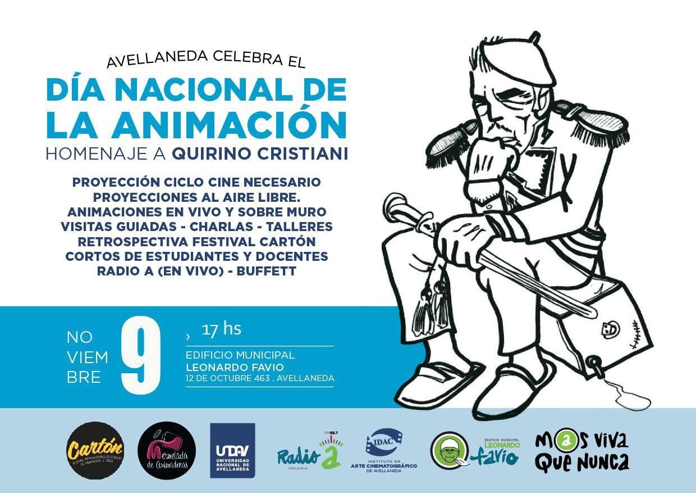 dia nacional de la animacion homenaje a quirino cristiani
