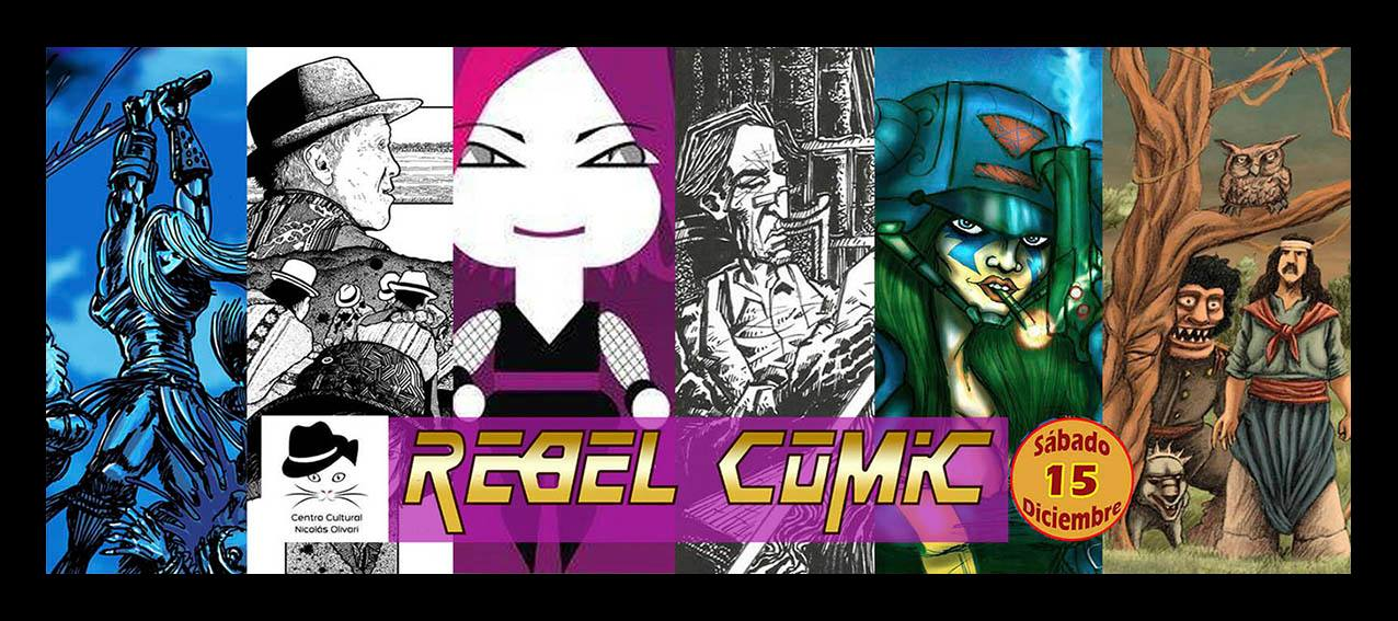 rebel comic