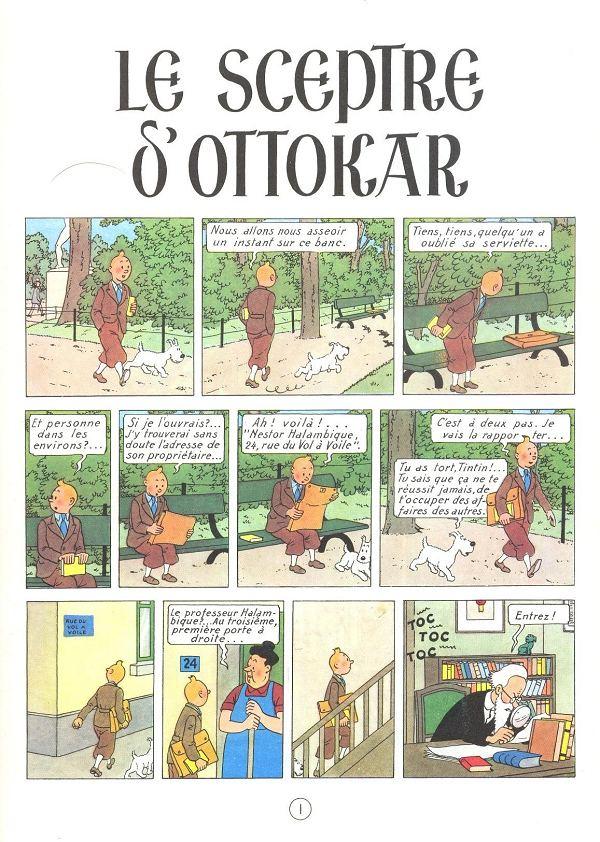 tintin-cetro-de-ottokar-herge-pagina