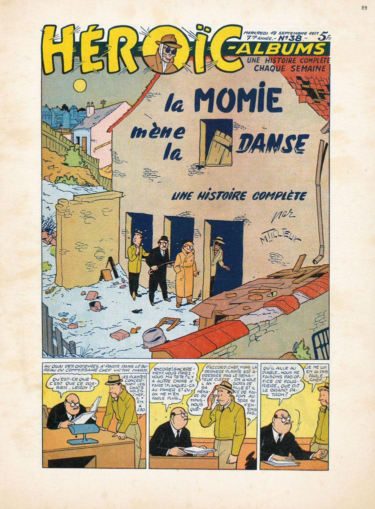 maurice-tillieux-heroic-albums-policial
