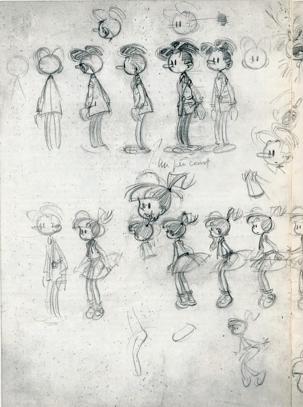 andre-franquin-modeste-et-pompom-diseño-personajes