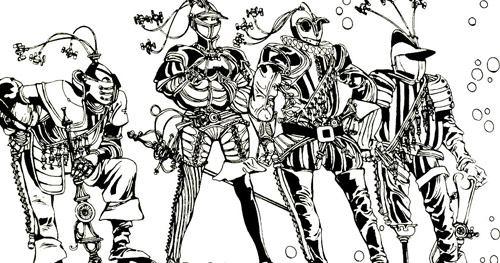 italianos - crepax- astronave pirata