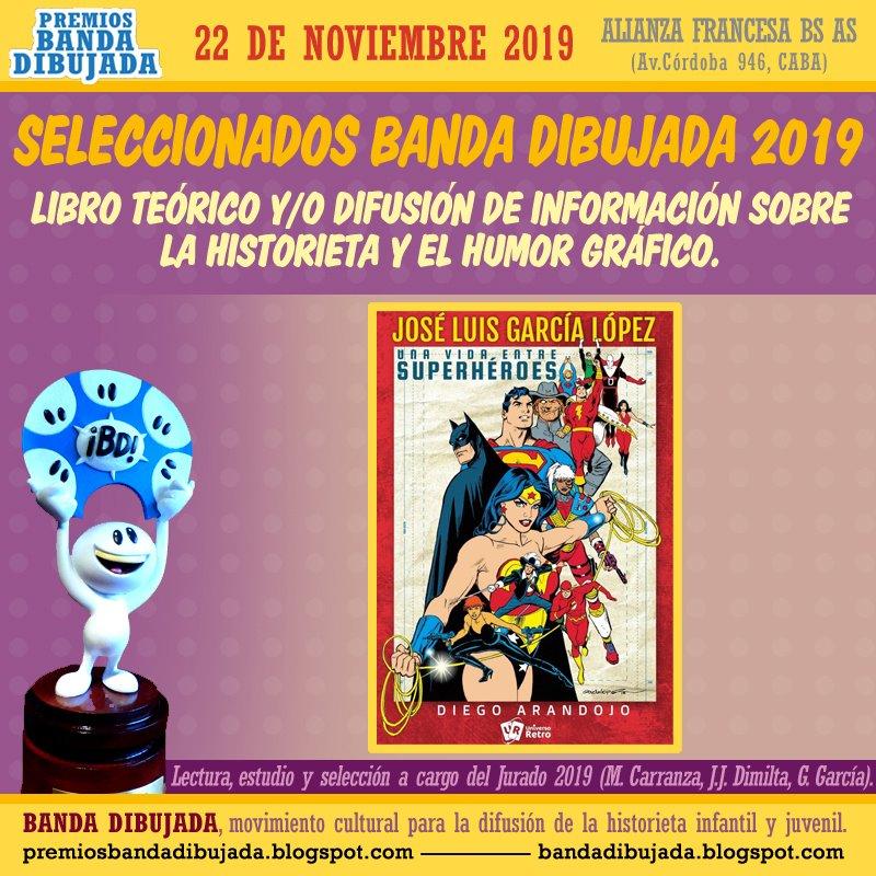 premios bd 2019 - difusion de la historieta