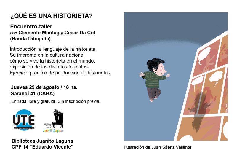 2019-08 taller historieta en juanito laguna