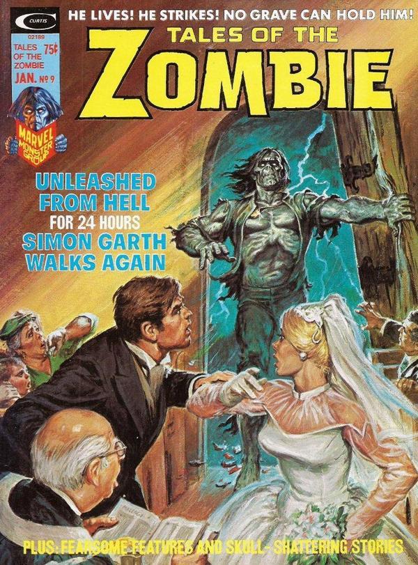 origen-zombis-marvel-tales-of-the-zombie-1973-stan-lee-bill-everett-menace-gcomics