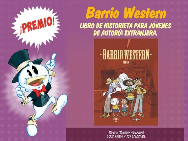 premios bd 2019 - barrio western-gcomics