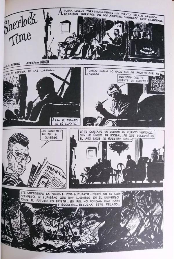 sherlock-holmes-y-el-comic-sherlock-time-alberto-breccia-oesterheld