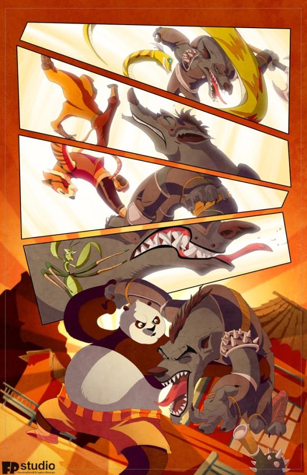 entrevista-fero-dibujante-neymar-jr-comics-pagina-kun-fu-panda