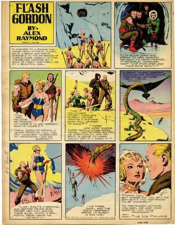 fundadores-del-comic-alex-raymond-flash-gordon