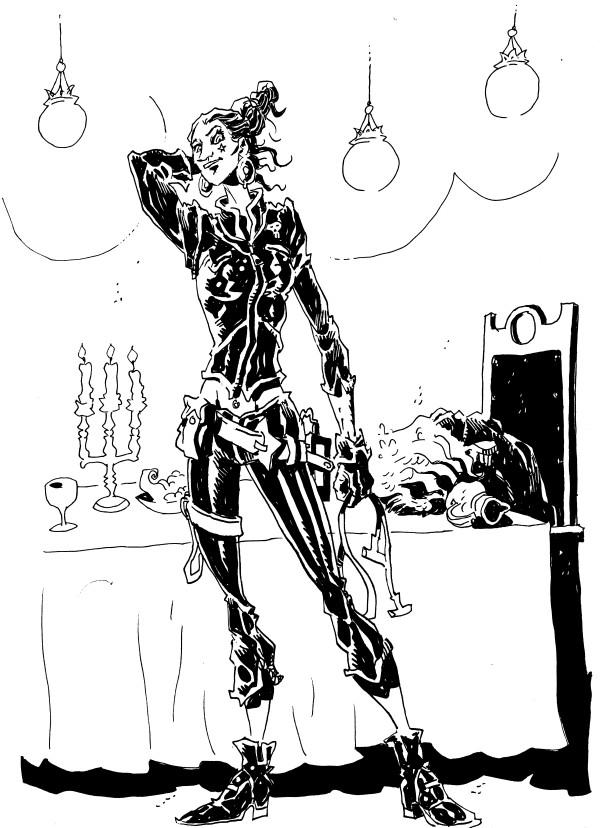 Illicitus Cosmos 46 - Laura Swanson garganta seca - jok arandojo