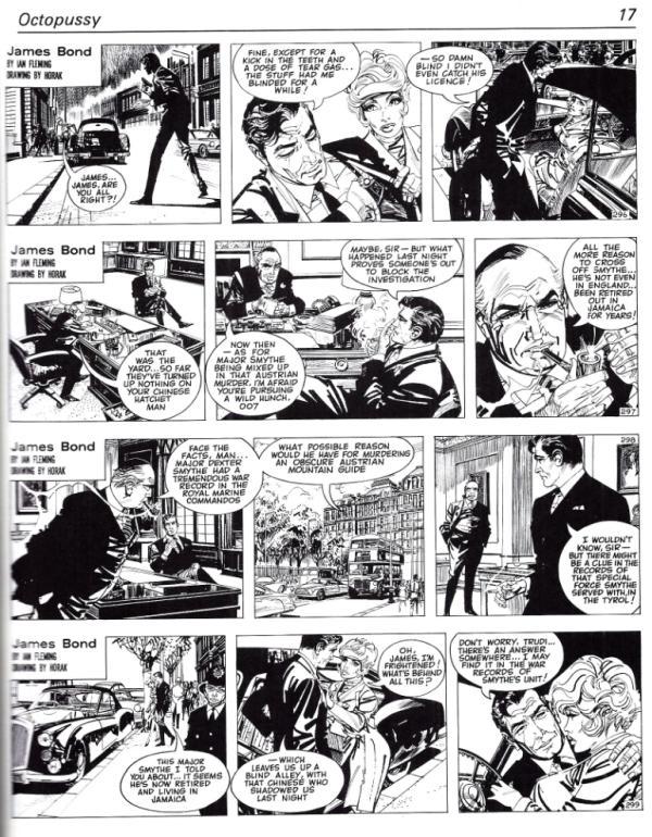 james-bond-en-la-historieta-pagina-novela-octopussy-comic-horak