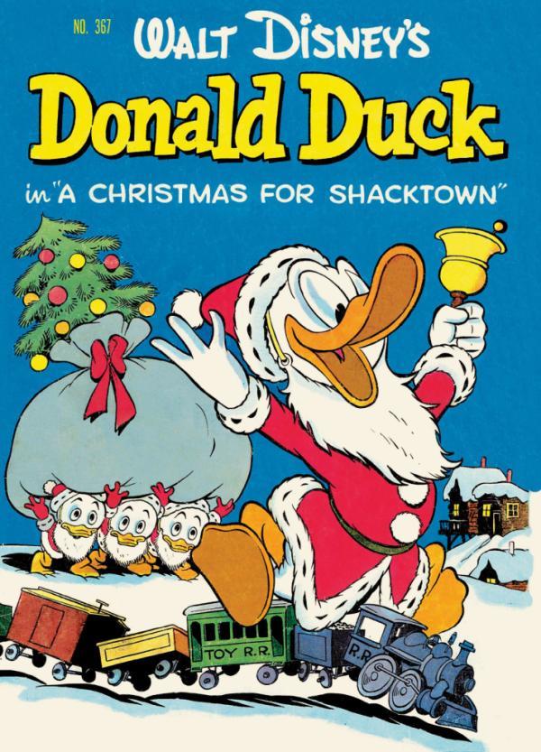 navidad-en-la-historieta-pato-donald-walt-disney-portada