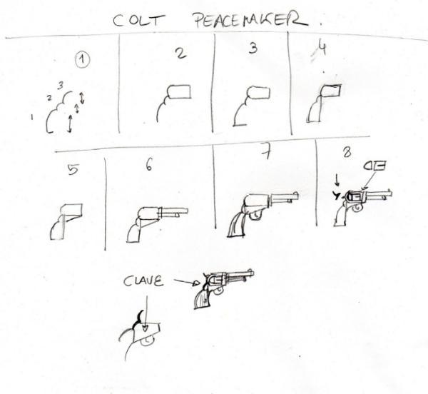 minicurso-leccion08-historieta-western-armas-colt-peacemaker
