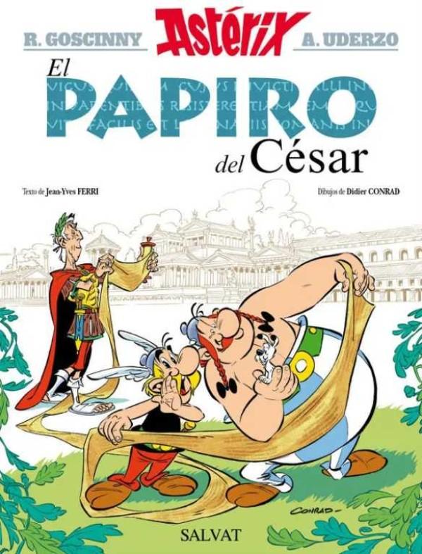 301-asterix-y-la-hija-de-vercingetorix-papiro-del-cesar-conrad-y-ferri