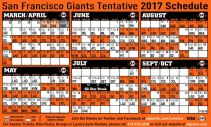 2017-San-Francisco-Giants-Schedule