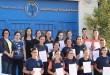 توزيع شهادات امتحانات المستوى الأول + الثاني في اللغة الألمانية