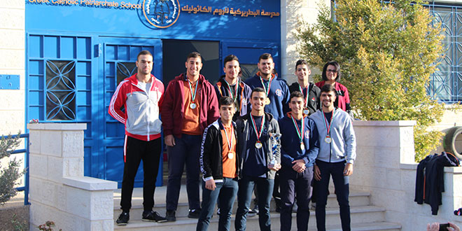 دوري كرة السلة بإشراف مديرية التربية والتعليم العالي/بيت لحم