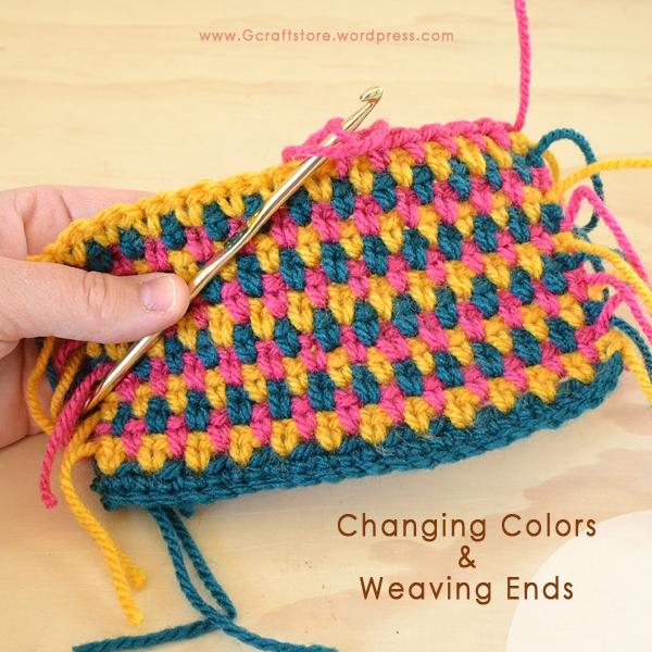 Crochet Basics أساسيات الكروشيه (4/5)