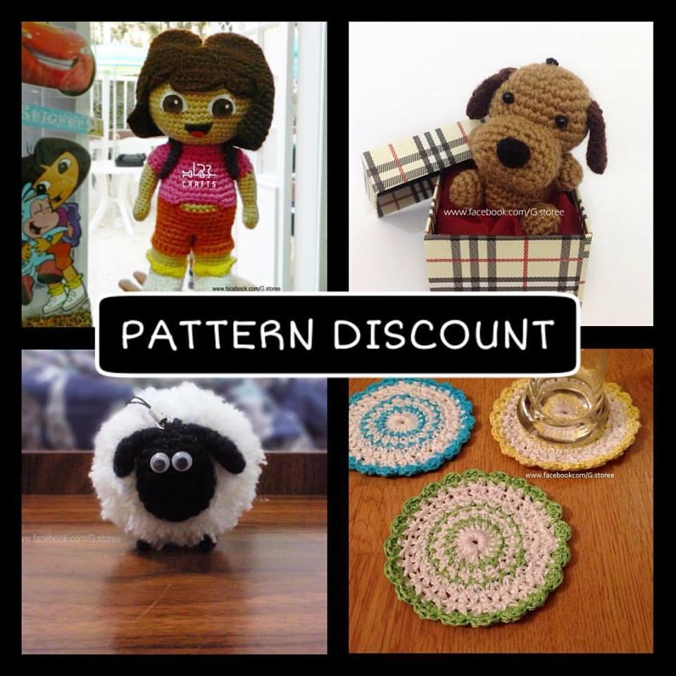 Amigurumi & Crochet patterns on SALE