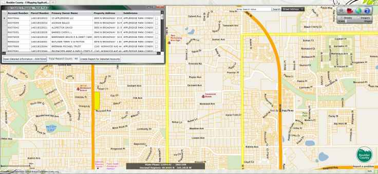 ArcGIS Web County Property Map