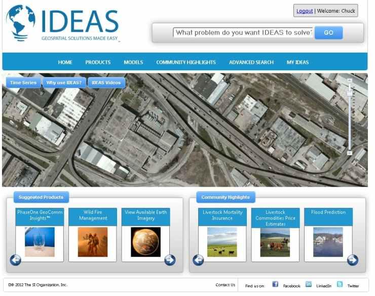 Geospatial Modeling Portal