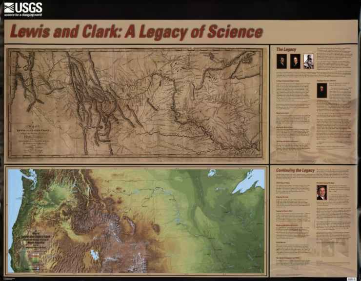 Lewis and clark legacy map