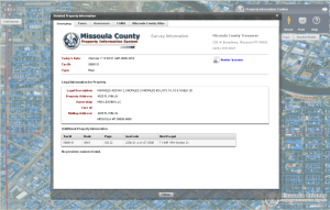Local Government Property Information web app