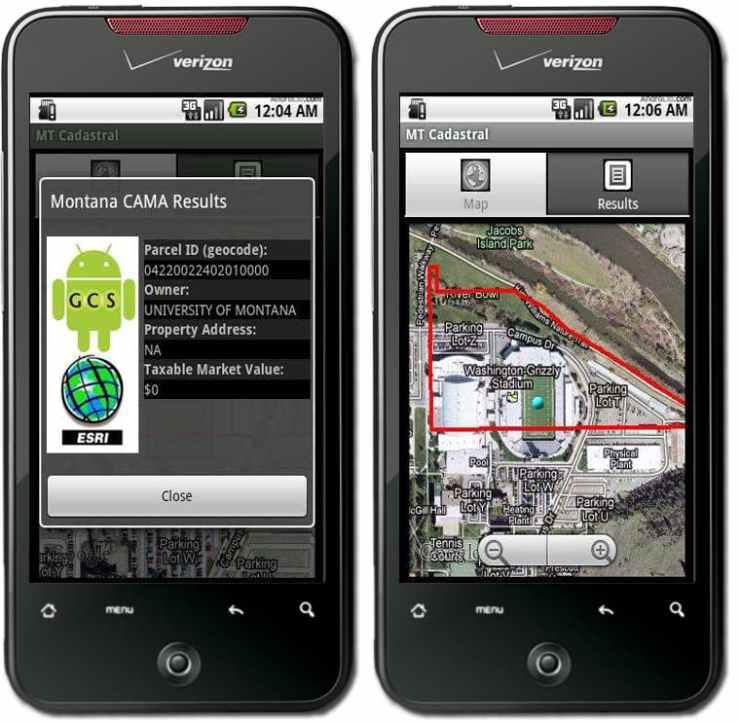 The MT Parcel App delivers Montana parcel boundaries (GIS) and property information.