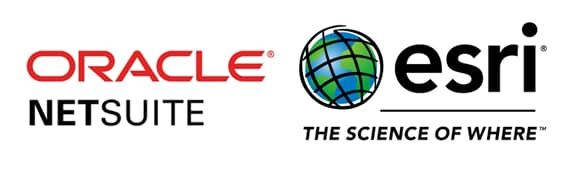 GCS geo-enables your Oracle NetSuite with Esri ArcGIS