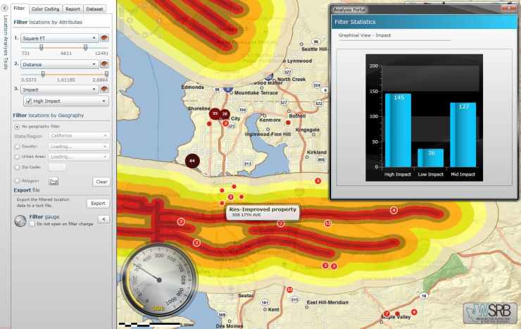 Insurance Risk Analysis GIS Web App