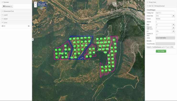 Forestry Timber Cruise App with Esri Collector for ArcGIS