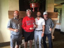 Winning Group, 11th S & R Tournament, Lake Merced Golf Club, June 11, 2018