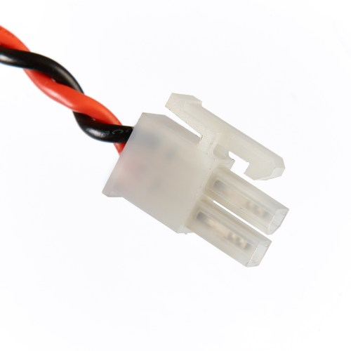 small resolution of mini fit power connector to ring with in line fuse