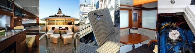Frequent areas where to find termite in boats or yachts