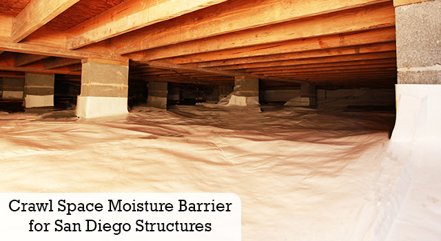 Crawl Space Moisture Barrier for San Diego Structures