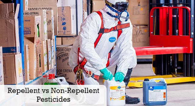 Repellent Vs Non Repellent Pesticides