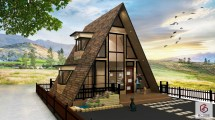 Small House Design Philippines Resthouse And 4-person