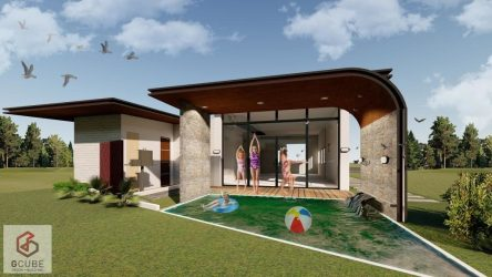 Bungalow with Swimming Pool? Yes It s Possible! G Cube Design + Build Inc