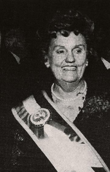 Dorothy Hayden Cudahy, 1984 Honoree
