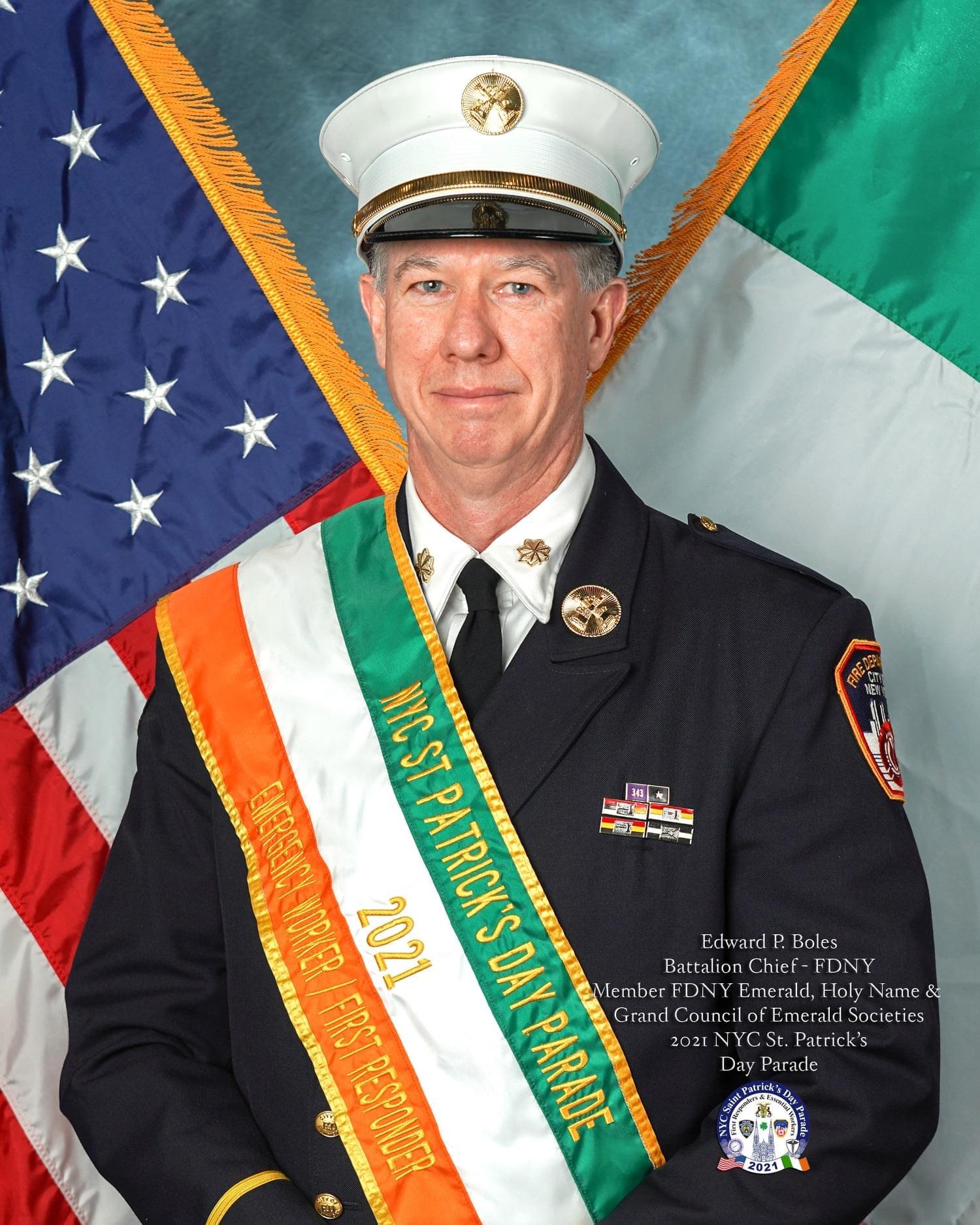 Edward P. Boles, 2020 Honoree