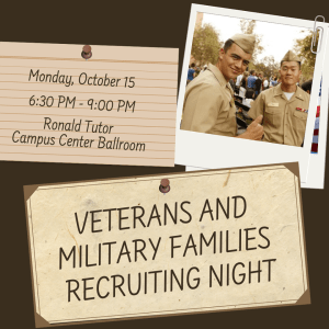 USC Veterans and Military Families Recruiting Night